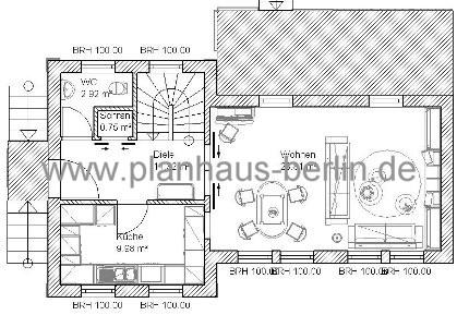 Villa pagini grundriss erdgeschoss by admin planhaus for Grundrisse villa neubau